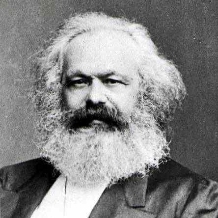 La figura de Karl Marx