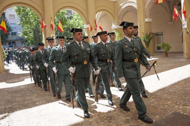 Guardia Civil contra las huelgas del aeropuerto de El Prat